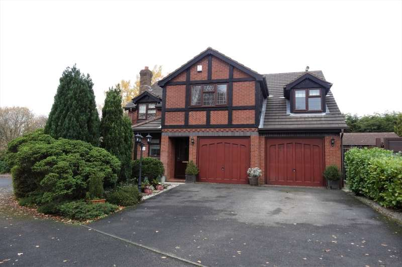 5 Bedrooms Detached House for sale in Glencourse Drive, Fulwood, Preston, PR2