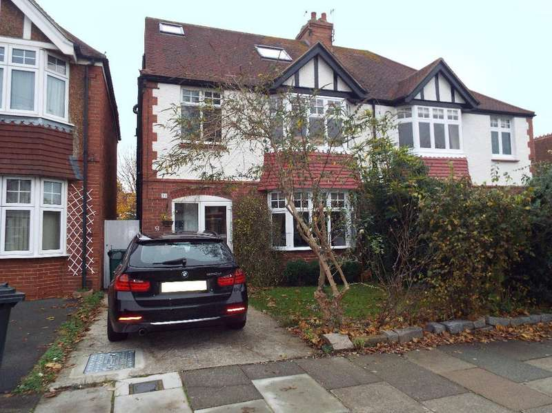 5 Bedrooms Semi Detached House for sale in Portland Villas, Hove, East Sussex, BN3