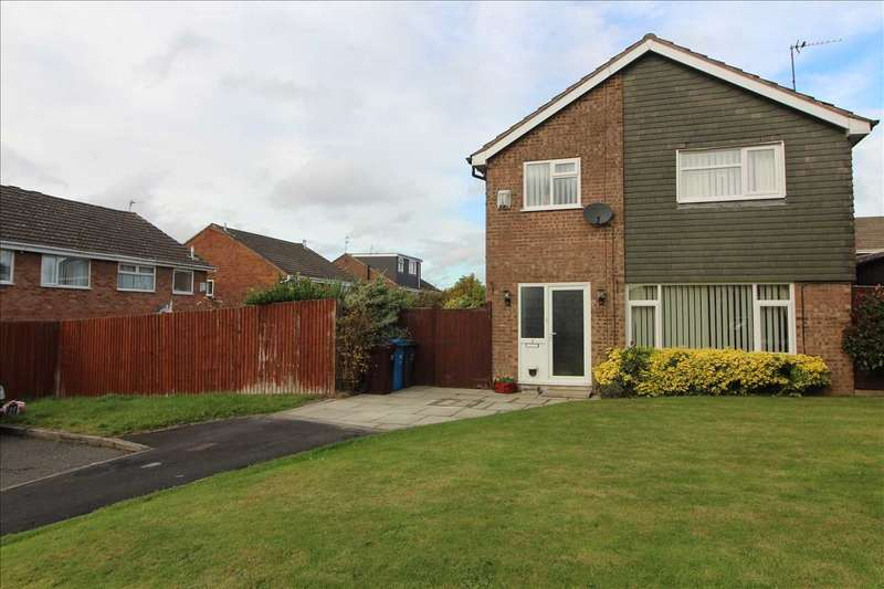 4 Bedrooms Detached House for sale in Lauder Close, Kirkby