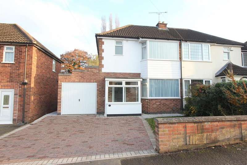 3 Bedrooms Semi Detached House for sale in Coronation Road, Earl Shilton, Leicester
