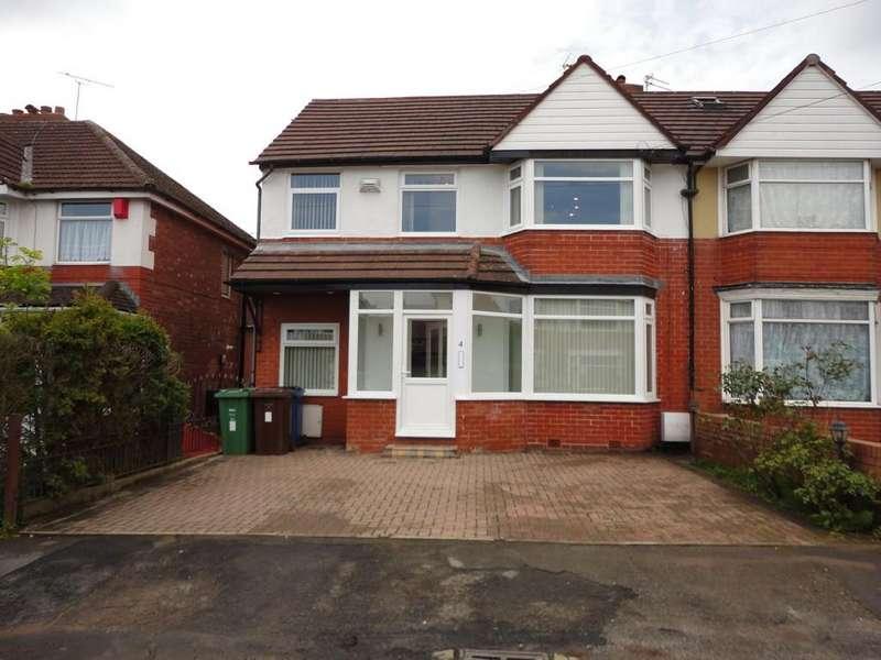 3 Bedrooms Semi Detached House for sale in Lynton Drive, Prestwich, M25