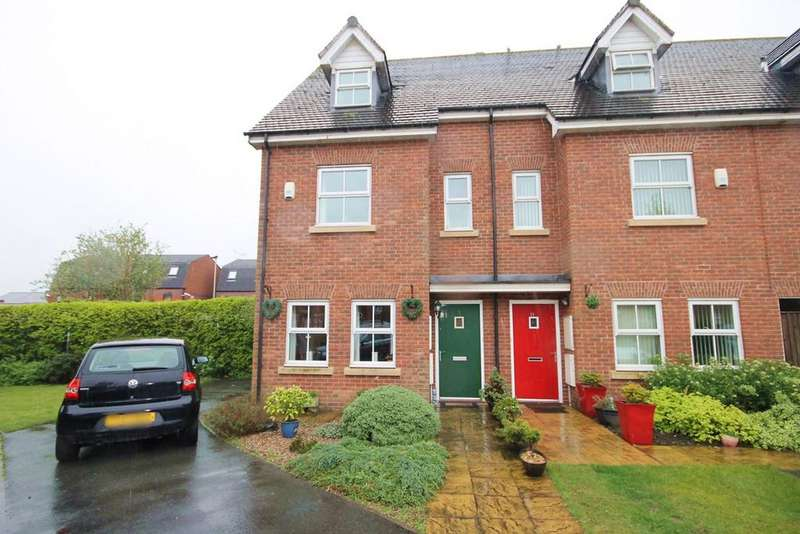 4 Bedrooms Town House for sale in Holywell Drive, Warrington, WA1