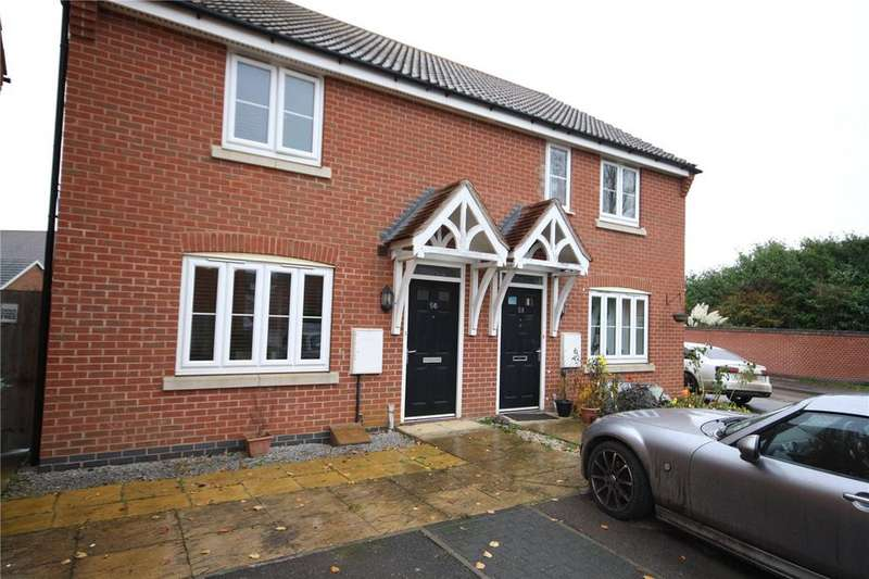 2 Bedrooms Semi Detached House for sale in Murrayfield Avenue, Greylees, Sleaford, Lincolnshire, NG34