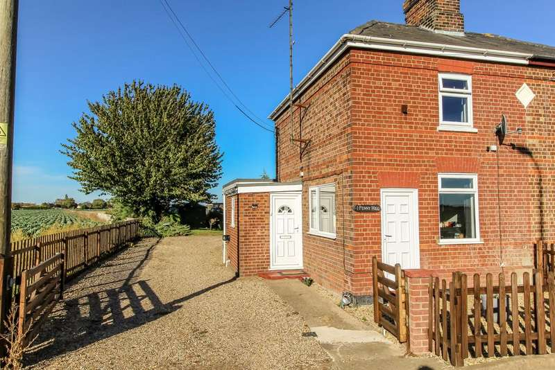 2 Bedrooms Semi Detached House for sale in Holbeach, Spalding