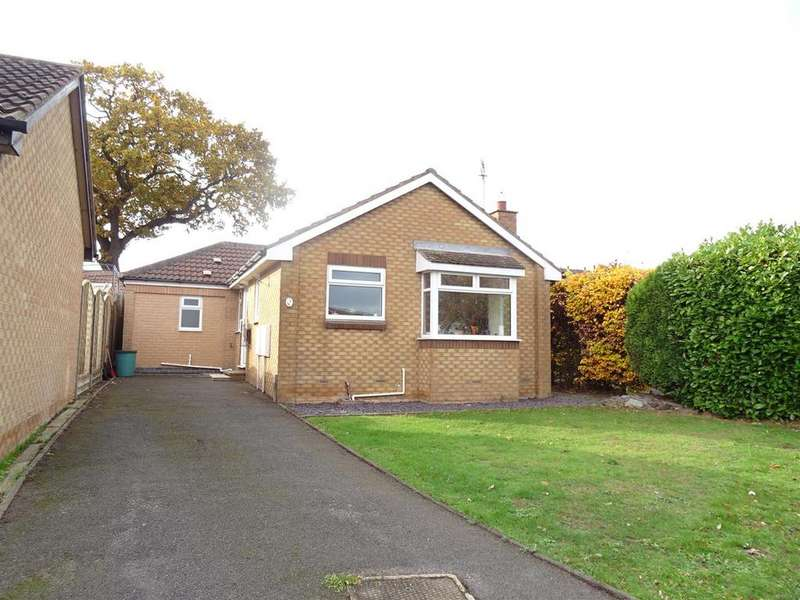 2 Bedrooms Detached Bungalow for sale in Quantock Rise, Shepshed, Leicestershire