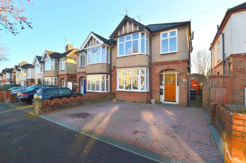 3 Bedrooms Semi Detached House for sale in Cranleigh Gardens, New Bedford Road Area, Luton, LU3 1LS