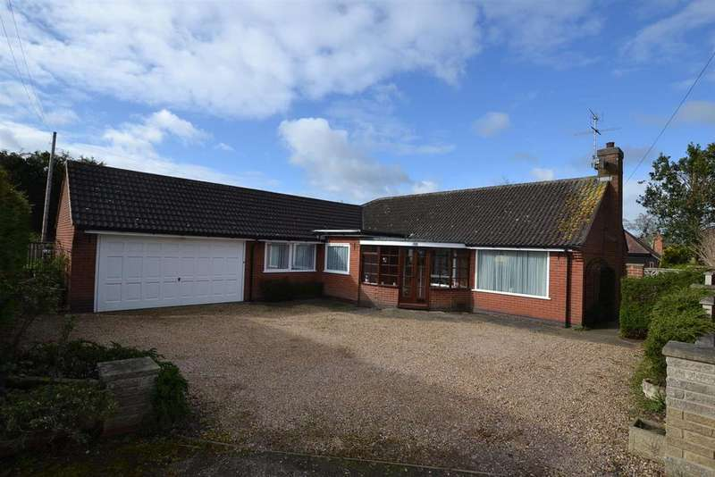 3 Bedrooms Detached Bungalow for sale in Cossington Road, Sileby, Leicestershire
