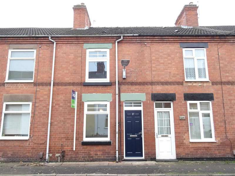 2 Bedrooms Terraced House for sale in Margaret Street, Coalville, Leicestershire