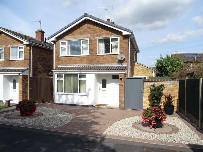 3 Bedrooms Detached House for sale in Kenmore Crescent, Coalville, Leicestershire