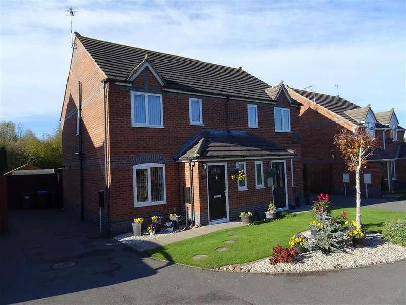 3 Bedrooms Semi Detached House for sale in Station Road, Bagworth, Leicestershire