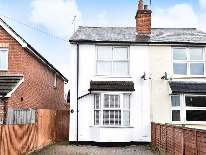 3 Bedrooms Semi Detached House for sale in Whitley Wood Lane, Reading, RG2