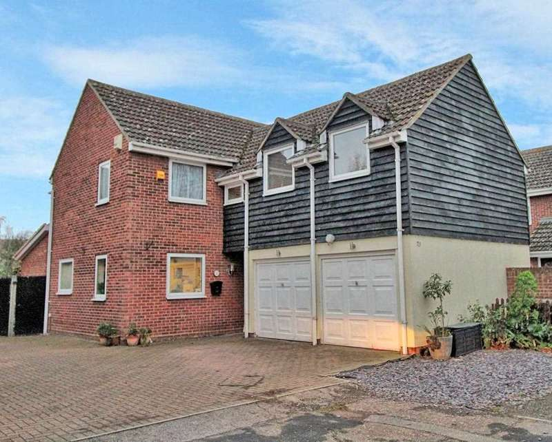 4 Bedrooms Detached House for sale in Barwell Way, Witham