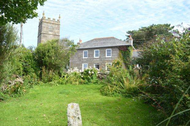 4 Bedrooms End Of Terrace House for sale in Zennor, St. Ives, Cornwall