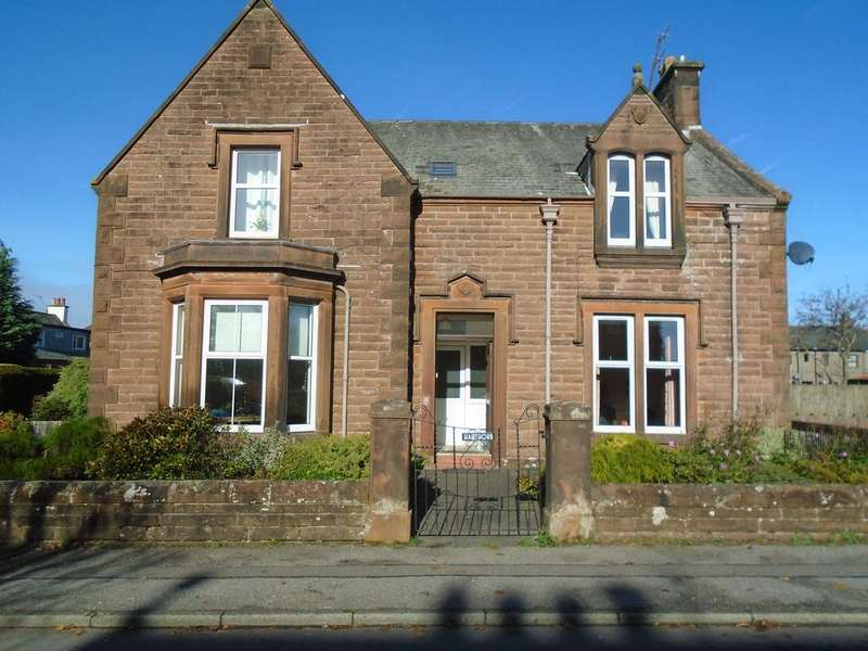 2 Bedrooms Ground Flat for sale in Lower Flat,Hawthorn Villa, 39 LIvingstone Place, Lockerbie DG11 2AU