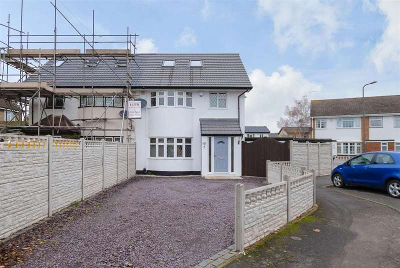 4 Bedrooms Semi Detached House for sale in Lower Cippenham Lane, Cippenham