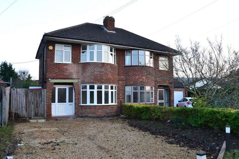 3 Bedrooms Semi Detached House for sale in Harlaxton Road, Grantham