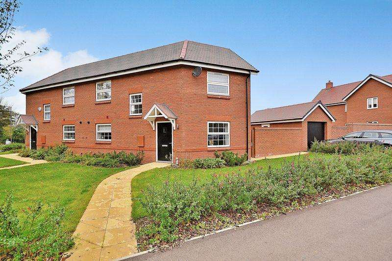 3 Bedrooms Semi Detached House for sale in Dormer Avenue, Wing
