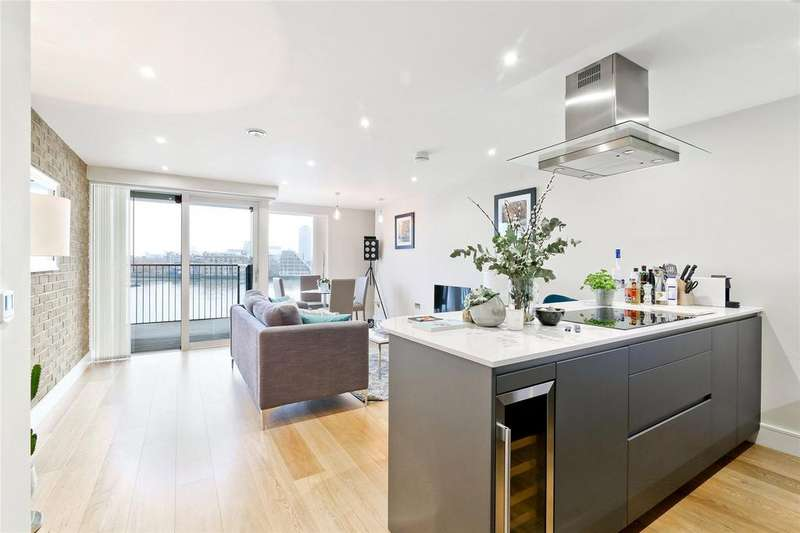 2 Bedrooms Apartment Flat for sale in Wapping High Street, Wapping Riverside, London, E1W