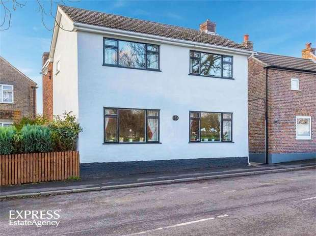 4 Bedrooms Detached House for sale in Mount Pleasant, Wainfleet, Skegness, Lincolnshire