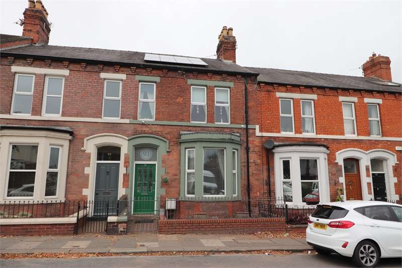 4 Bedrooms Terraced House for sale in CA3 9HL Scotland Road, Stanwix, Carlisle, Cumbria