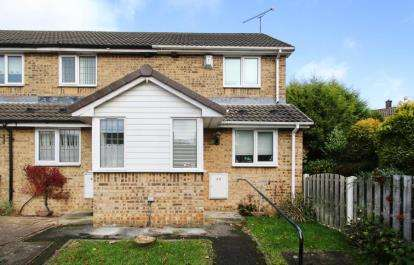 1 Bedroom End Of Terrace House for sale in Oakes Park View, Sheffield, South Yorkshire