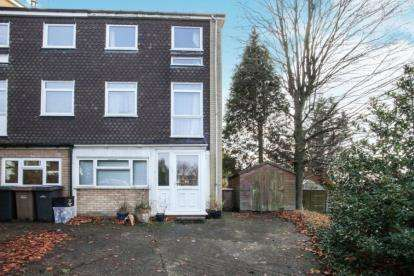 5 Bedrooms End Of Terrace House for sale in Trowbridge Gardens, Luton, Bedfordshire