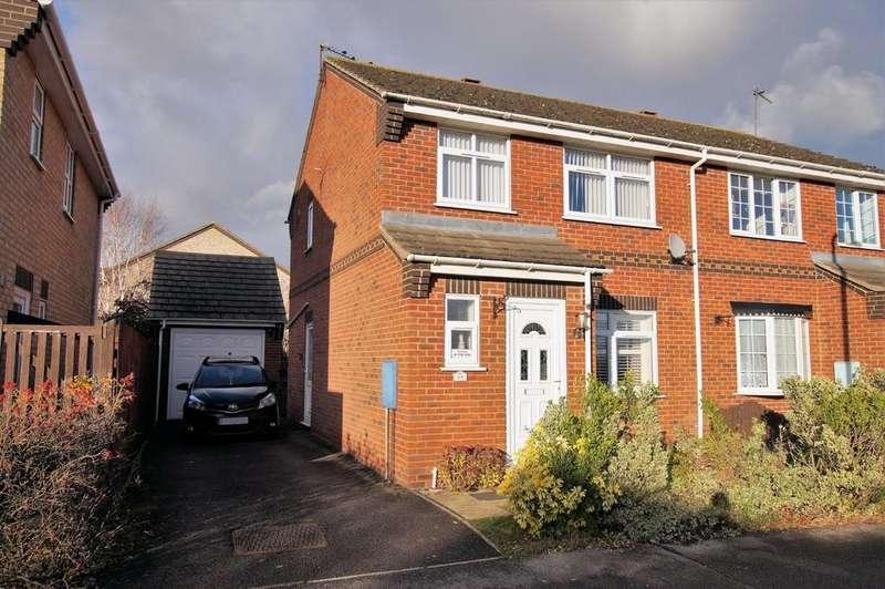 3 Bedrooms Semi Detached House for sale in Norwich Drive, Bracebridge Heath