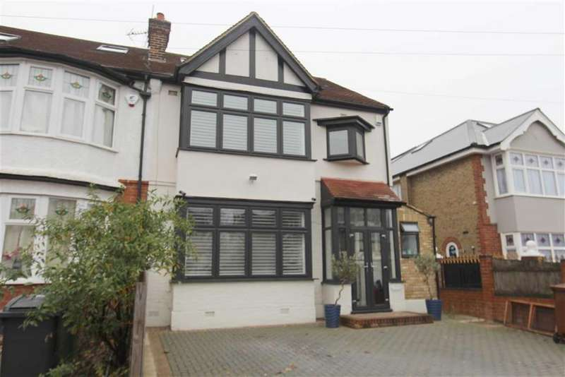 4 Bedrooms End Of Terrace House for sale in Kimberley Road, North Chingford