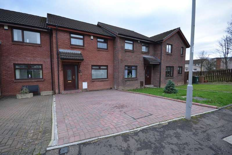 3 Bedrooms Terraced House for sale in Witchknowe Court, Kilmarnock, KA1