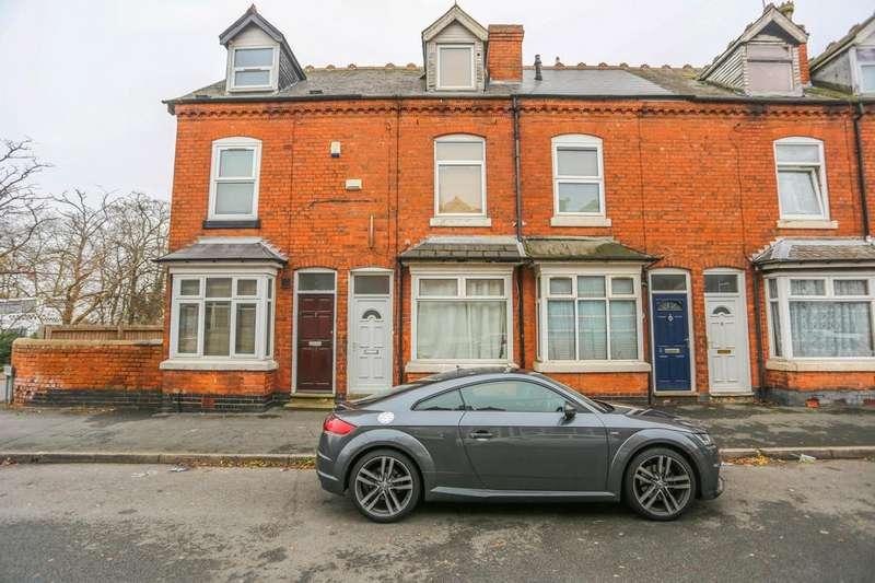 4 Bedrooms Terraced House for sale in Leslie Road, Edgbaston, Birmingham, B16