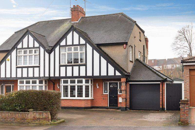 4 Bedrooms Semi Detached House for sale in *** 1930's Splendour ***