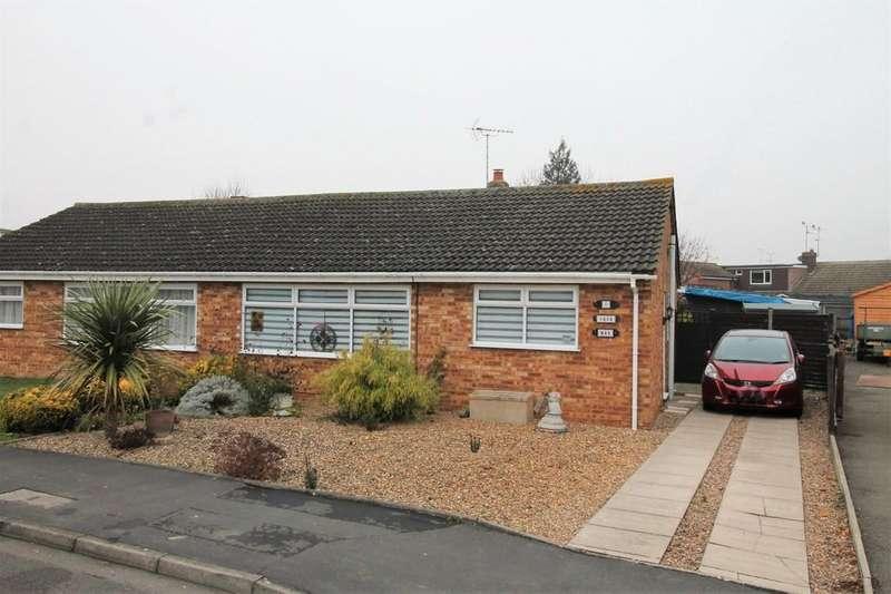 2 Bedrooms Semi Detached Bungalow for sale in Balfour Gardens, Market Harborough