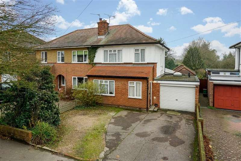 3 Bedrooms Semi Detached House for sale in The Ridgeway, St Albans, Hertfordshire