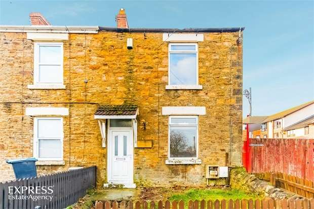 2 Bedrooms End Of Terrace House for sale in Stones End, Evenwood, Bishop Auckland, Durham