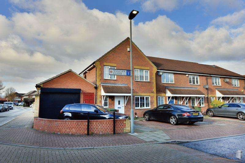 4 Bedrooms Semi Detached House for sale in VULCAN CLOSE, BECKTON E6