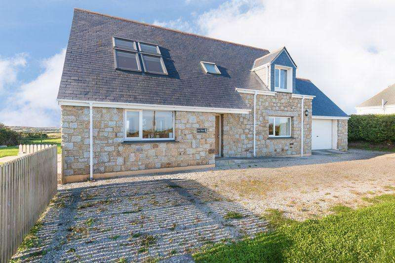 4 Bedrooms Detached House for sale in Kuggar - Lovely Views and Close to the Beach