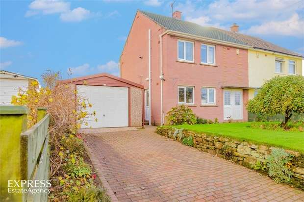 3 Bedrooms Semi Detached House for sale in Calder View, Beckermet, Cumbria