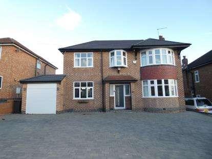 4 Bedrooms Detached House for sale in Sandringham Avenue, Burton-On-Trent, Staffordshire