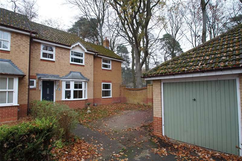 4 Bedrooms Semi Detached House for sale in The Breech, College Town, Sandhurst, Berkshire, GU47