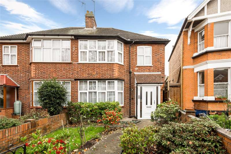 3 Bedrooms Semi Detached House for sale in Lexden Road, Acton, W3
