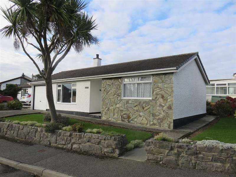 2 Bedrooms Detached Bungalow for sale in Rhosffordd, Moelfre, Ilse Of Anglesey
