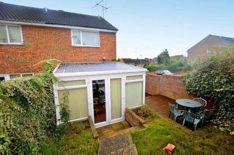 2 Bedrooms End Of Terrace House for sale in Brussels Way, Luton, Bedfordshire, LU3 3TJ