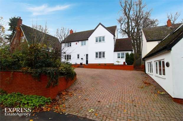 3 Bedrooms Detached House for sale in Brownsover Lane, Rugby, Warwickshire