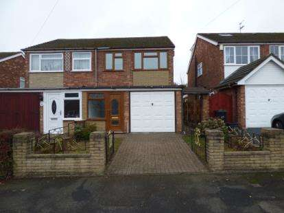 2 Bedrooms Semi Detached House for sale in Silverthorne Avenue, Tipton, West Midlands