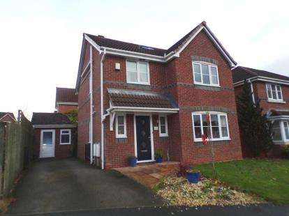 4 Bedrooms Detached House for sale in Nab Wood Drive, Chorley, Lancashire