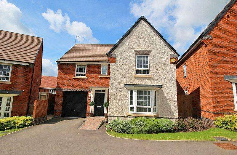 4 Bedrooms Detached House for sale in Ward Road, BAGGERIDGE VILLAGE, DY3 4BD