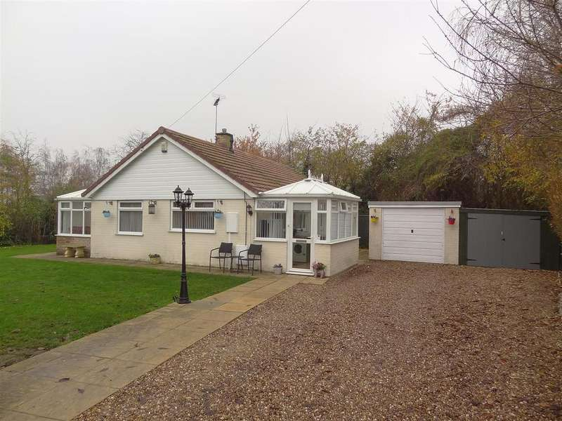 3 Bedrooms Detached Bungalow for sale in Hall Road, Great Hale, Sleaford