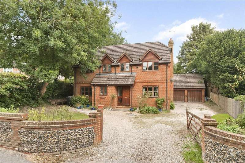 4 Bedrooms Detached House for sale in Newbury Hill, Hampstead Norreys, Thatcham, Berkshire, RG18