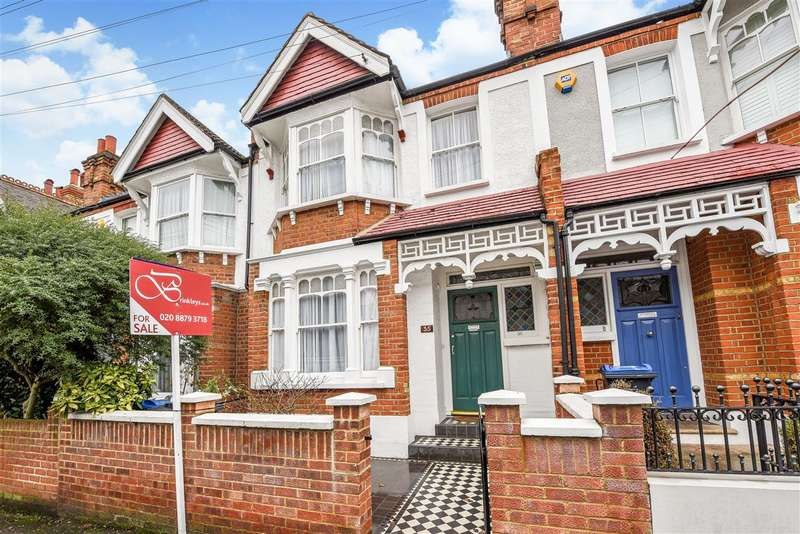 3 Bedrooms Terraced House for sale in Durnsford Avenue, Wimbledon Park