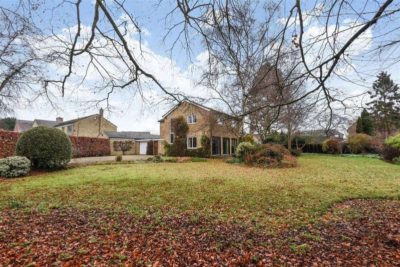 4 Bedrooms Detached House for sale in Ponds Lane, Old Marston